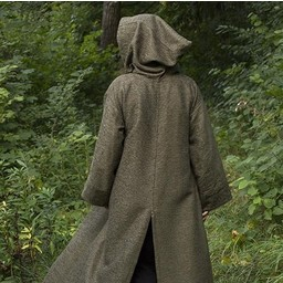 Medieval robe Benedict, green