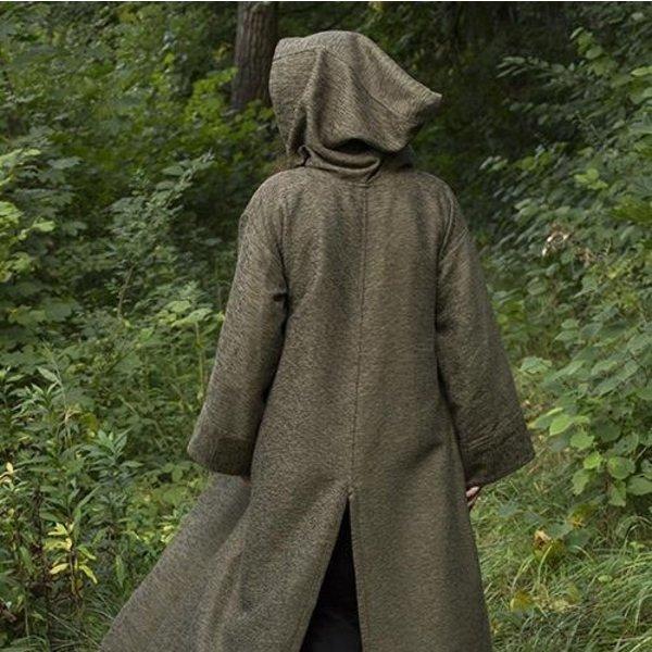 Epic Armoury Medeltida mantel Benedict, grön