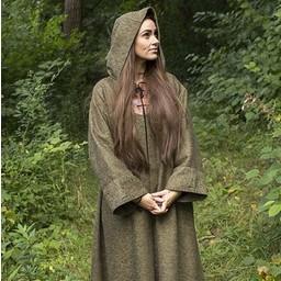 Medeltida mantel Benedict, grön