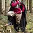 Epic Armoury Umhang Jaimie, schwarz