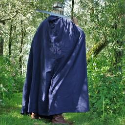 Capa de algodón, azul