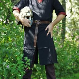 Tunika Edgar, schwarz / rot