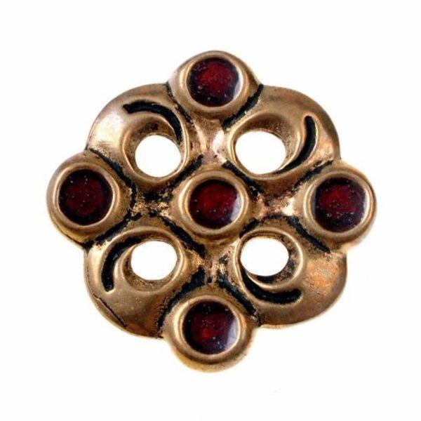 Merovingian cloisonne brooch