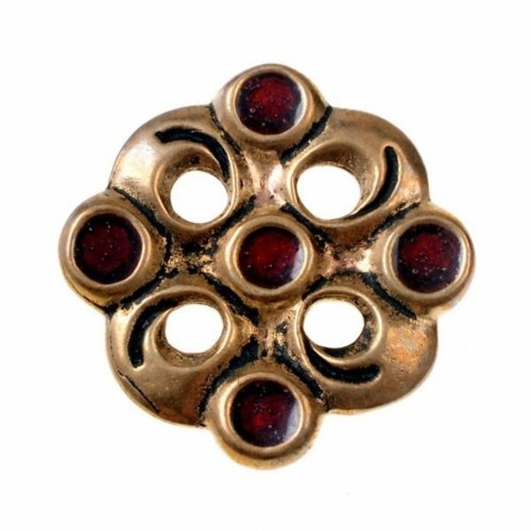 Merovingiske cloisonne broche