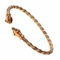 Vikingarmband met Wezelkoppen
