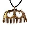 Bronzen Vikingkam Ringerikestijl