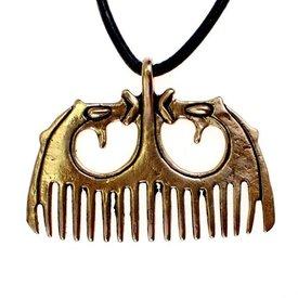 styl brąz Viking grzebień Ringerike
