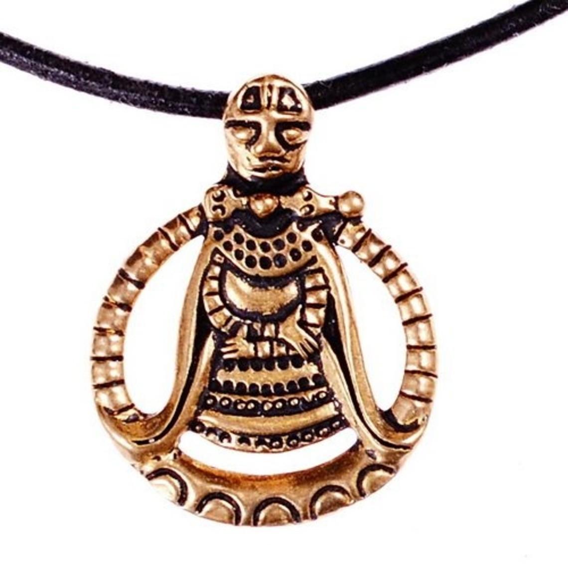 Vikingo amuleto Freya