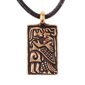 6th århundrade love amulett