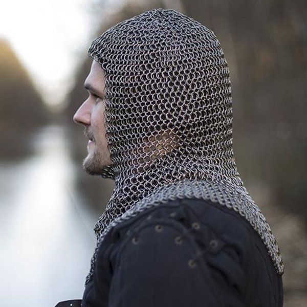 Epic Armoury Chainmail coif Alaric, 9 mm