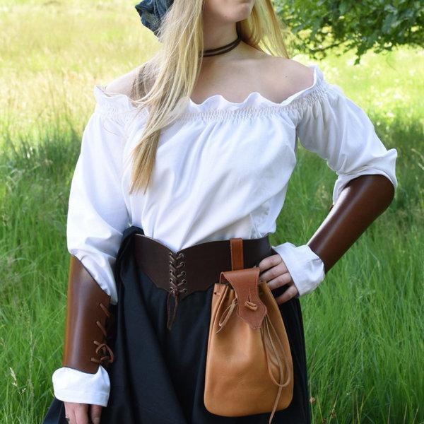 Renæssance bluse Elisabeth, hvid