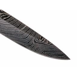 Viking knife blade Birka, damascus, 14 cm