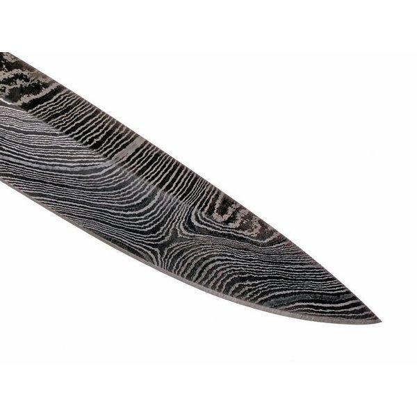 Vikingknivblad Birka, damaskus, 14 cm