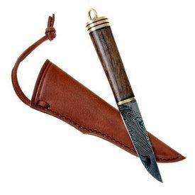 cuchillo de acero de Damasco de Viking