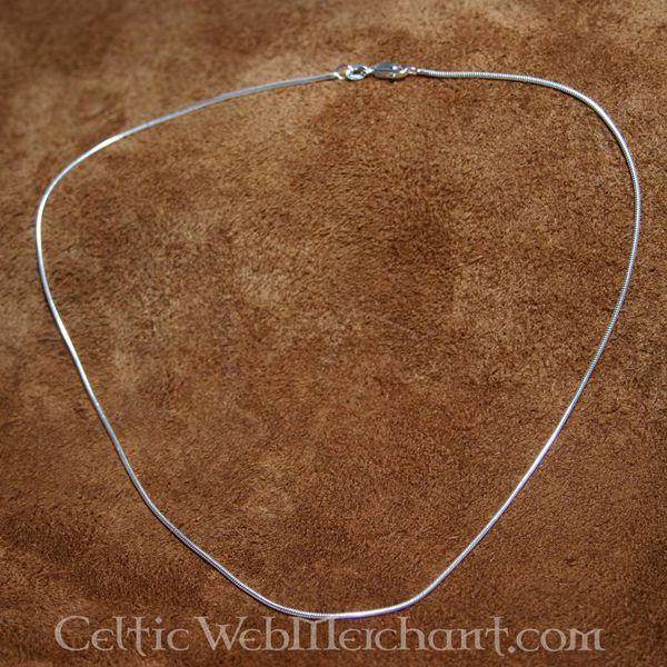 Zilveren ketting, 1,2 mm, 50 cm