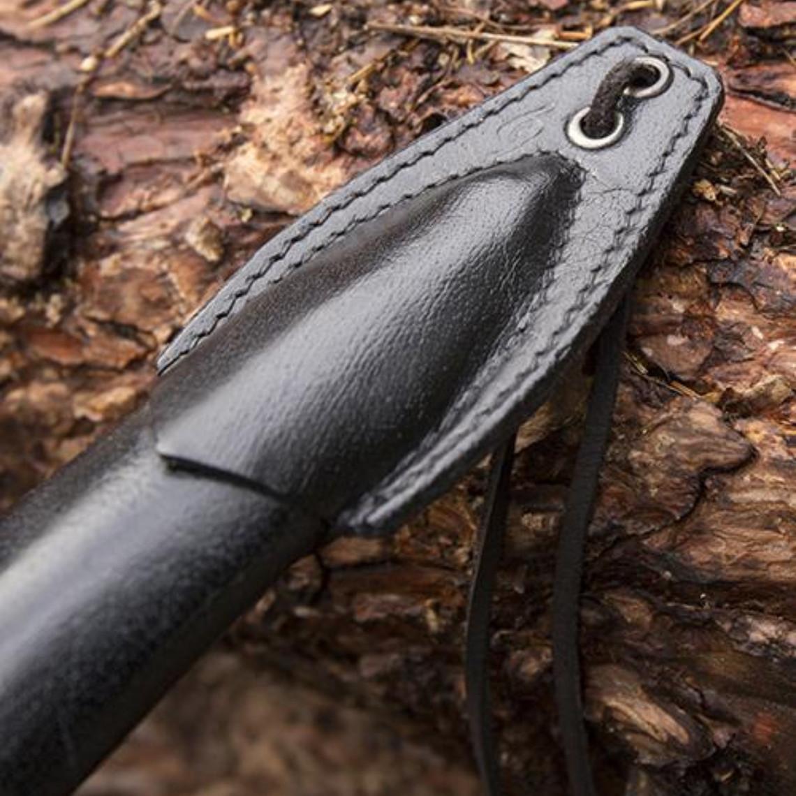 Epic Armoury LARP Fourreau de luxe poignard, noir