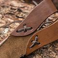 Epic Armoury LARP luxe dolkschede, bruin