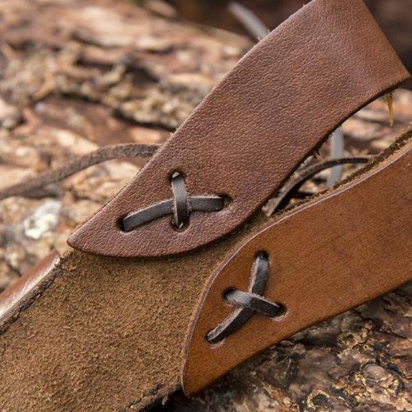 Epic Armoury LARP Fourreau de luxe poignard, brun
