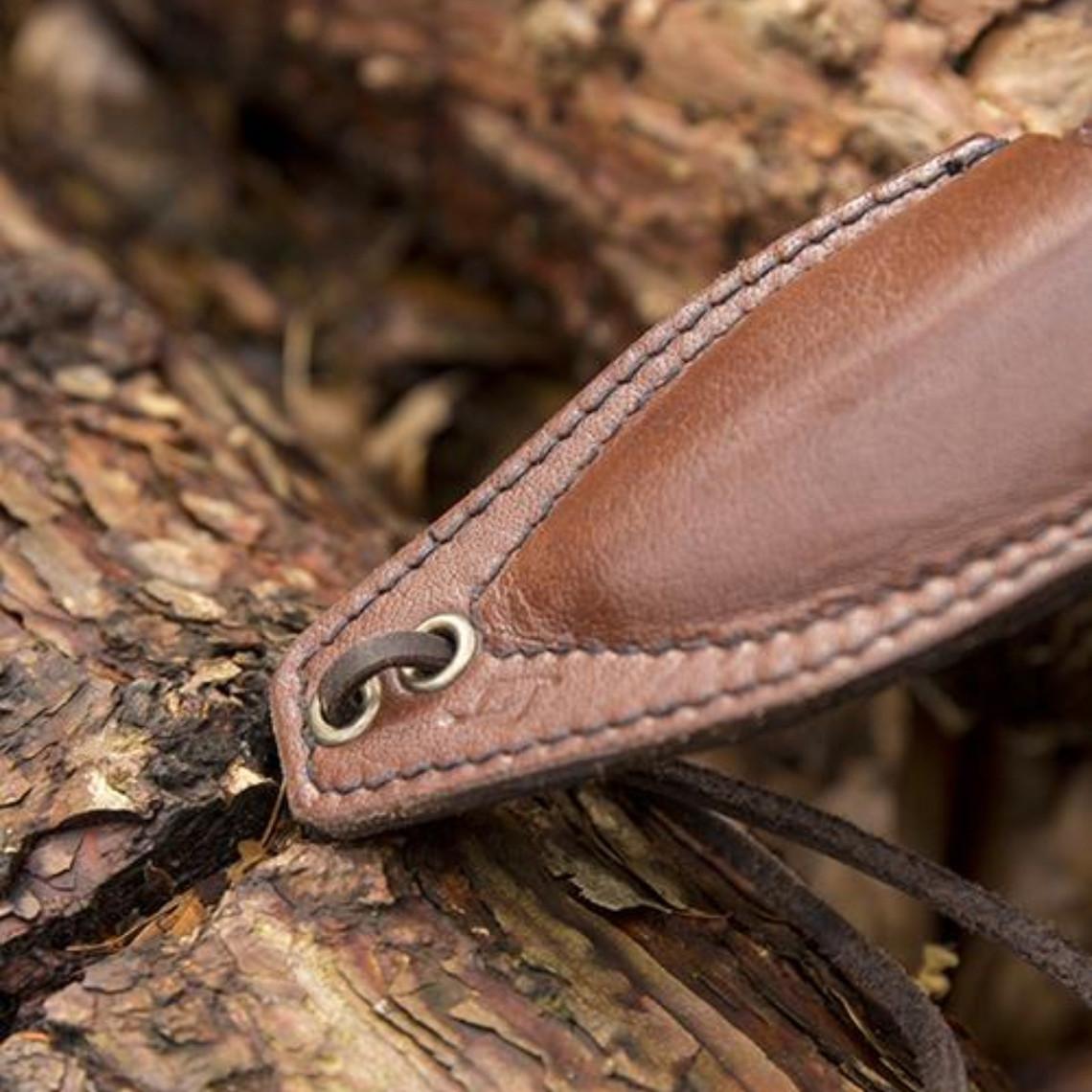 Epic Armoury LARP lujosa daga vaina, marrón