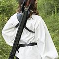 Epic Armoury LARP retour Fourreau Sky Hook, noir