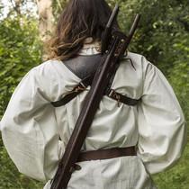 Epic Armoury LARP tilbage skede Sky Hook, brun