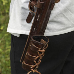 LARP z powrotem pochwa Sky Hook, brązowy