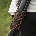 Epic Armoury LARP rugschede Sky Hook, bruin