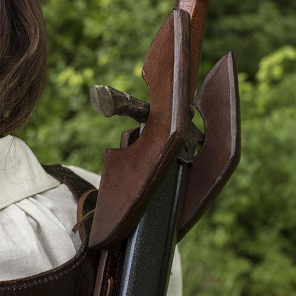 Epic Armoury LARP dos Fourreau Sky Hook, brun