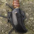 Epic Armoury LARP skinner kniv med hållare, svart