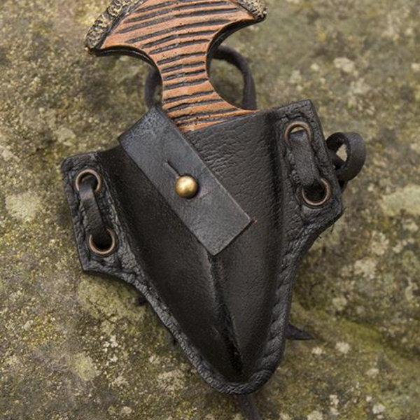 Epic Armoury LARP handled dolk med hållare, svart