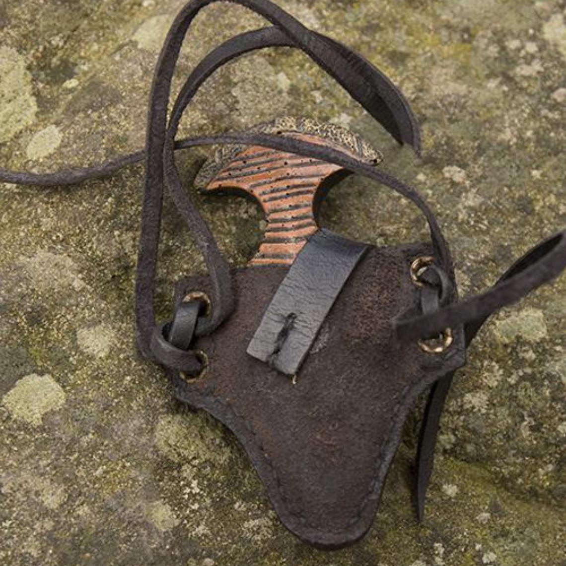 Epic Armoury LARP poignard poignet avec support, noir