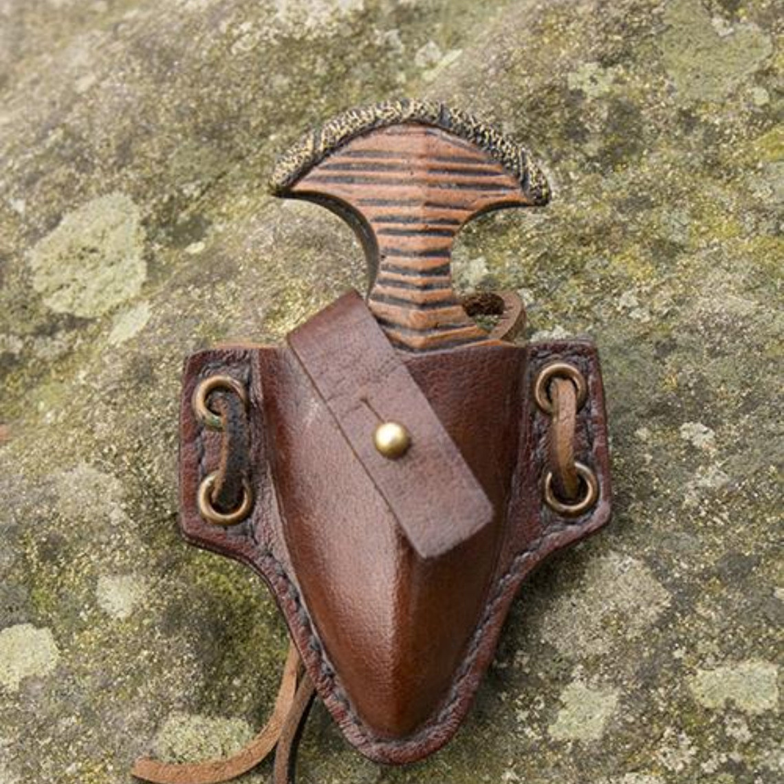 Epic Armoury LARP håndled dolk med holder, brun