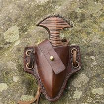 Epic Armoury LARP poignard poignet avec support, brun