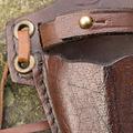 Epic Armoury cuchillo kunai LARP con soporte, marrón