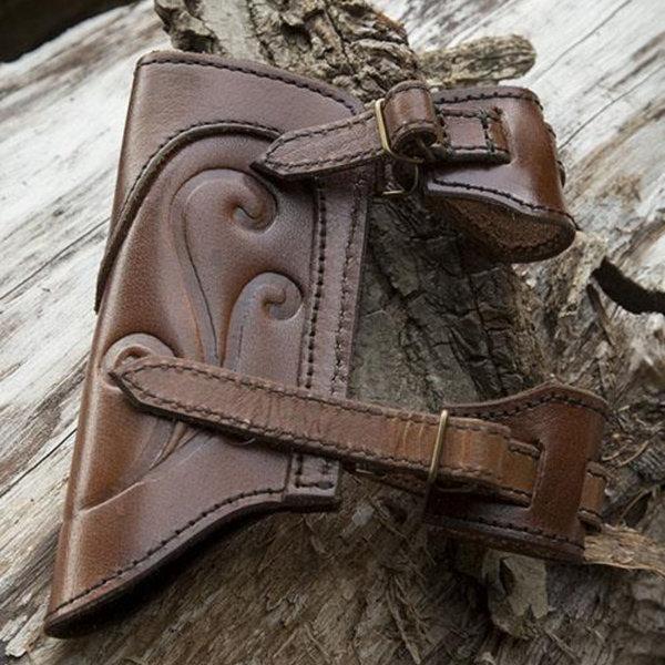 Epic Armoury LARP sværdholder Illumine, brun