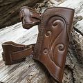 Epic Armoury Soporte de espada LARP Illumine, marrón