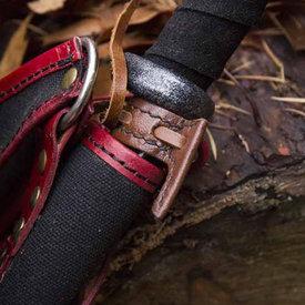 Epic Armoury gancho de la vaina de la espada LARP, marrón