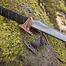 Epic Armoury Læder hylster krog til LARP sværd, sort