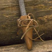 Epic Armoury LARP couteau coupe-gorge avec support, brun