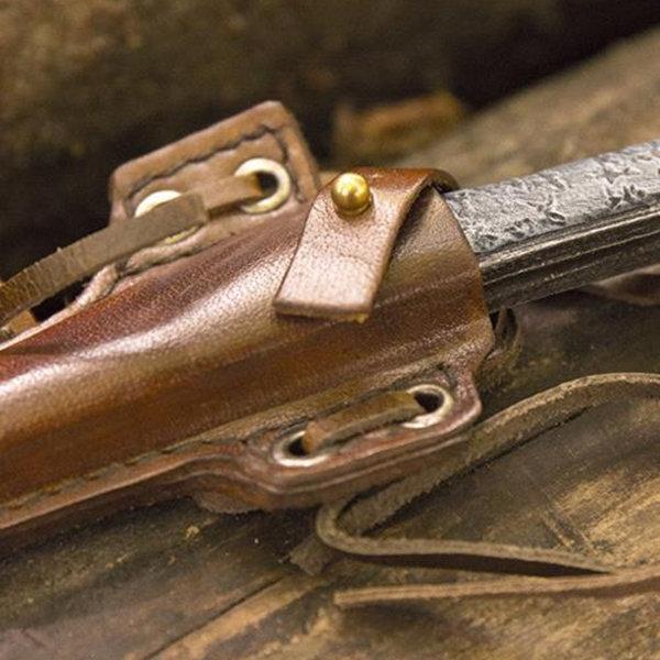 Epic Armoury LARP nożownik nóż z uchwytem, brąz