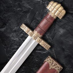 9th century Viking sword Haithabu, damast steel