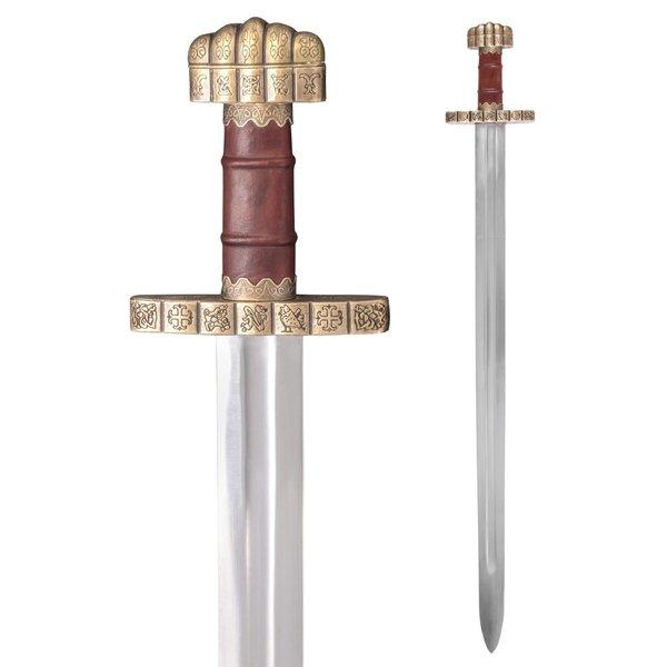 Deepeeka 9. wieku Miecz wikingów Haithabu, pół-ostry
