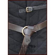 Ulfberth Średniowieczny brązowy pas pierścieniowy 160 cm