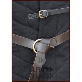 Ulfberth Medieval ring belt brown, 160 cm