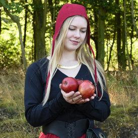 tapa medieval-Renaissance Gouda, rojo
