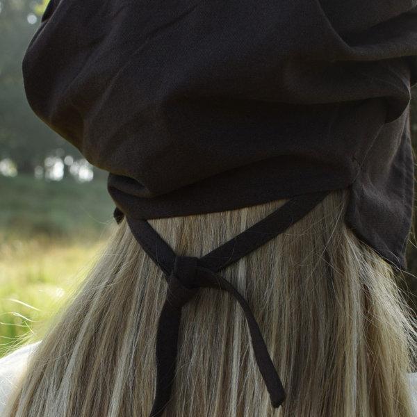 cap plissés Amsterdam, brun