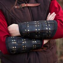 Epic Armoury Coppia di bracciali Fighter, il nero