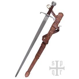 SPQR Medeltida enkelhandssvärd 1310, Royal Armories, stridsklar