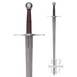 Mittelalterliches Bastardschwert 115 cm, battle-ready (stumpf 3 mm)
