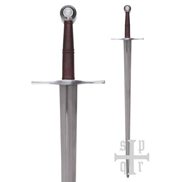 SPQR Middelalderlig bastard sværd 115 cm, slag-klar